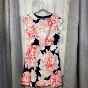 Studio One NY Floral Cap Sleeve dress NWT